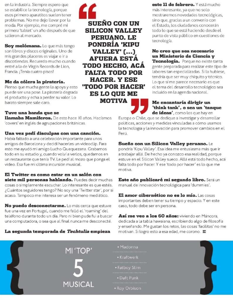 Entrevista-Mercado Tic 2013 2