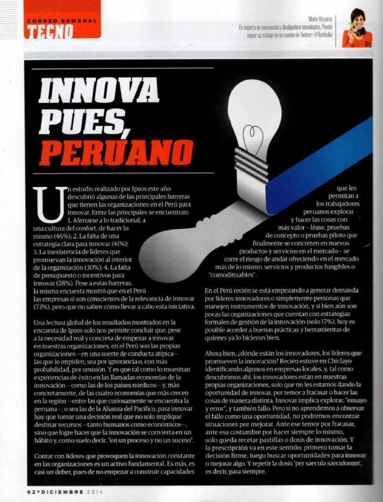Innovacion - Innova pues-peruano