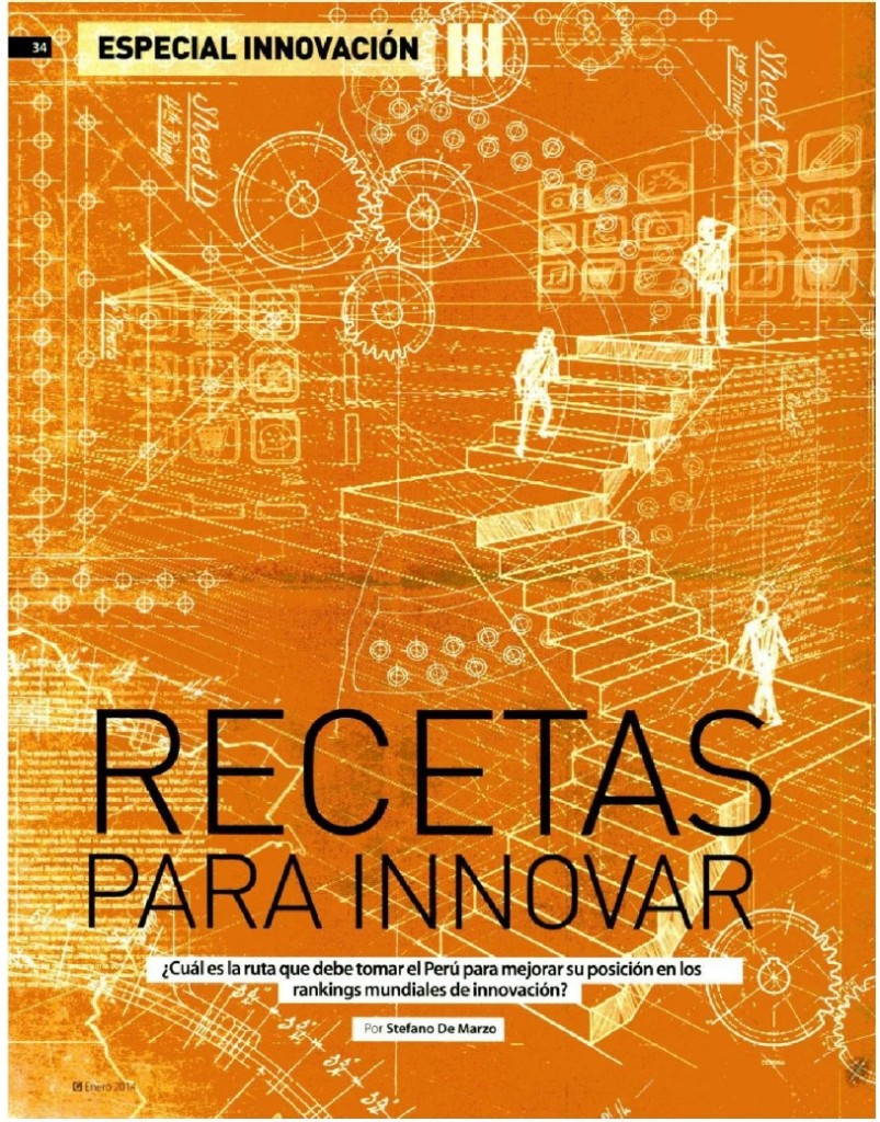 Innovacion - Recetas para innovar 2014 -1